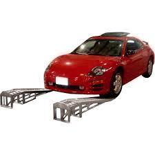 Mini-Lift Aluminum Low Profile Car Service Ramps - 3,000 Lbs ...