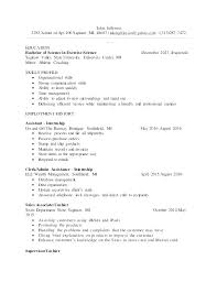 General Labor Resume Template Generic Examples Objective Statement