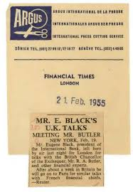 mr black s trip to february 1955