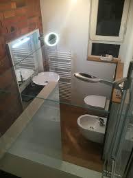 glas duschrückwand statt fliesen in der dusche