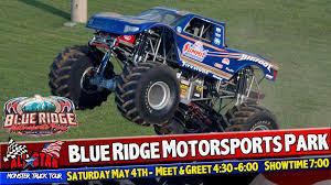 100 Monster Truck Show All Star Tour Blue Ridge Motorsports Park