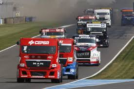 100 Big Trucks Racing Antonio Albacete ESP MAN Equipo Cepsa Truck World