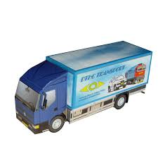 Paper Car Renault Trucks Commercial Vehicle AB Volvo - Lorry 1393 ...