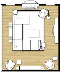 Narrow Living Room Layout With Fireplace by Effective Living Room Layouts For Your Fireplace And Tv Home
