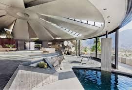 100 John Lautner Houses Arthur Elrod House Palm Springs CA USA 1968