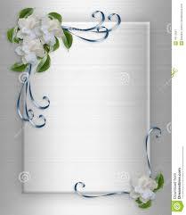 cadre photo mariage gratuit gardenias de cadre d invitation de mariage photographie stock