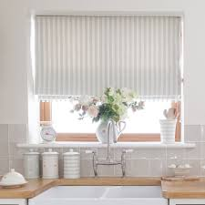 Amazon Country Kitchen Curtains by Country Blind Inspiration Sea Ivory Cambridge Stripe Blinds