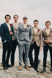 Rustic Grey Wedding Suit