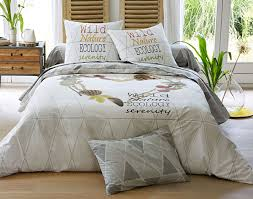housse de couette burberry linge de lit de qualité becquet