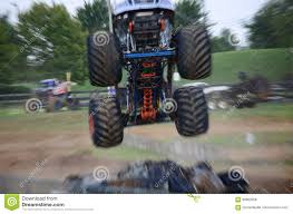 Monster Truck Stock Photo. Image Of Jump, Truck, Motor - 98883008