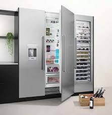 siemens side by side design kühlschrank luxusküchen deko