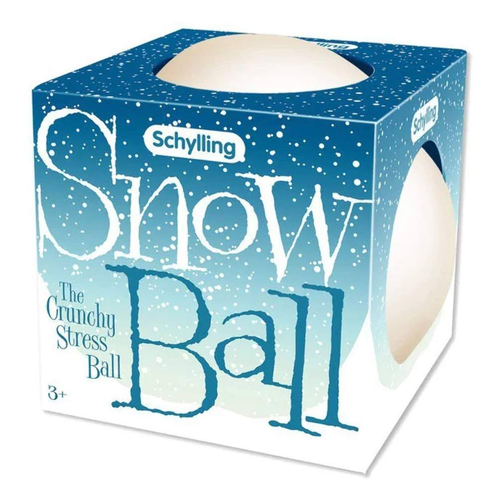 Schylling Snow Ball Crunch Stress Ball