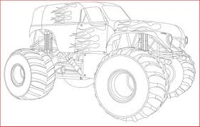 Monster Truck Drawing 146492 Drawing Monster Truck Coloring Pages ...