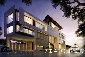 104 Zz Architects Ground Work Begins On Our New Bungalow In Chennai The Corner Plot Helps To Accentuate The Sculptural Facade And Create A Landmark Modern Home In The City Chennaihomes Luxurydesign
