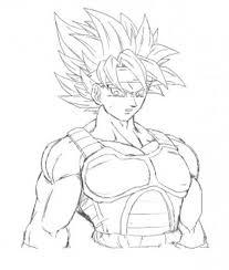 Imgenes De Goku Para Colorear La Tecnologa Del Futuro D B Z
