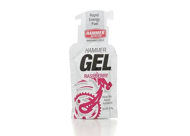 Hammer Nutrition Energy Gel, Raspberry - 1.16 oz pouch