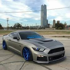 Ford Mustang modified crazy rims ♤ X Bros Apparel Vintage