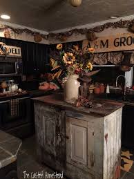 Primitive Kitchen Island Ideas by My Make Do Primitive Island Jozy Casteel Primitive Decorating