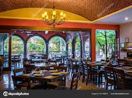 100 Brick Ceiling Traditional Mexican Restaurant Mexico Tables Chairs Chandellier