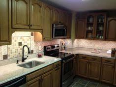 use of led lighting toe kick light kitchen