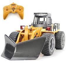 100 Rc Truck Snow Plow HuiNa Toys 1586 6 CH 118RC Metal Sweeper Charging Tractor RC