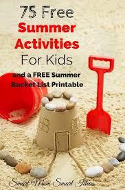 75 Free Summer Activities For Kids