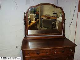 furniture beautiful antique posted mirror dresser ebay image