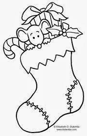 Cute Christmas Coloring Pages 1