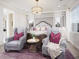 Pink And Gray Master Bedroom