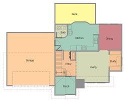2 Bedroom Home Plans Colors Conceptdraw Samples Building Plans U2014 Floor Plans