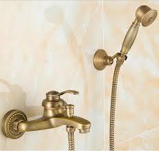 style européen antique rétro salle de bains robinet de