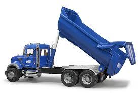 Buy Bruder MACK Granite Halfpipe Dump Truck Online At Low Prices In ...