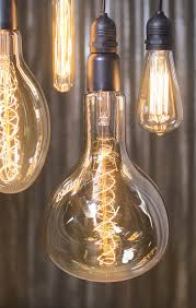 Check Out Those Huge Edison Vintage Light Bulbs