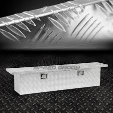 100 Pick Up Truck Tool Box 60X12X14 CHROME ALUMINUM PICKUP TRUCK TRUNK BED TOOL BOX TRAILER