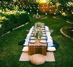 Outdoor Party Decor Best Parties Ideas On Garden Backyard Barbeque And Beer Barrow