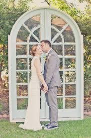 Mint Door Wedding Backdrop