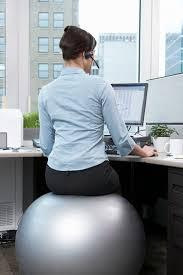 Yoga Ball Desk Chair Size by Desks Stability Ball Size Chart Exercise Ball Desk Chair Balance