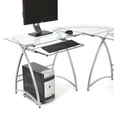 Latitude Run Cloer L Shaped Metal puter Desk & Reviews