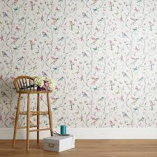 Fabric Curtains John Lewis by Buy John Lewis Hummingbird Trees Wallpaper Multi John Lewis