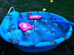 Plastic Pool With Slide Hard Kiddie How Many Moms Does It Take