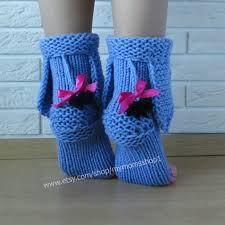 Eeyore knitted socks the donkey from Winnie the Pooh Socks Toy