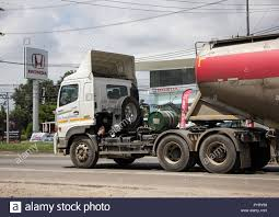 100 Fmi Trucks Chiangmai Thailand September 25 2018 Cement Trailer Truck Of TLL