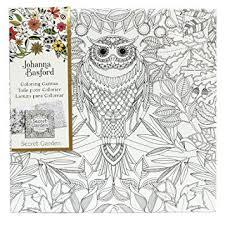 Johanna Basford Secret Garden Owl 12quot X