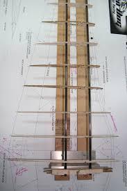 building technique utilizing a wing jig scale p 51