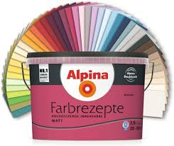 alpina farben farbrezepte innenfarbe wandfarbe farbton edles