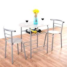3 Piece Dining Room Set Breakfast Pub Table 2 Chairs Bistro Home