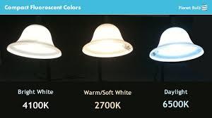 compact fluorescent cfl colors explained kelvin color for cfl ls