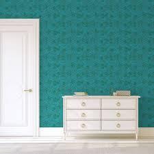 edle william morris jugendstil tapete délice florale türkis grüne vlies tapete großer rapport wanddeko für wohnzimmer