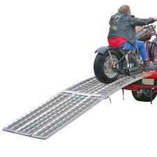 100 Heavy Duty Truck Ramps Black Widow Aluminum Folding Arched Motorcycle Ramp 10 Long