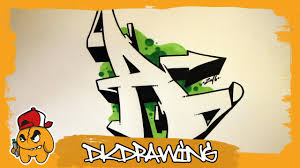 Graffiti Alphabet Tutorial How to draw graffiti letters Letter